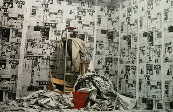 Newspaper · Decorated Room (Partial)