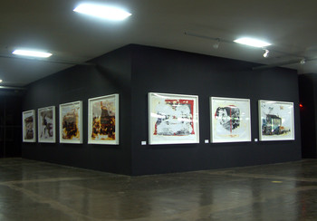 Washing (Exhibition View)