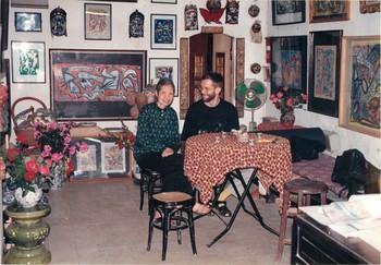 Vu Dan Tan's Mother and Eric Leroux in Salon Natasha