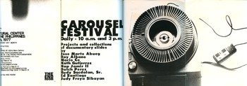 Carousel Festival — Exhibition Poster