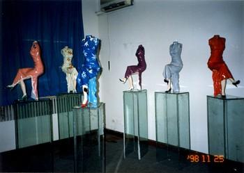Polychrome Ceramic Series - Obsessive Memories