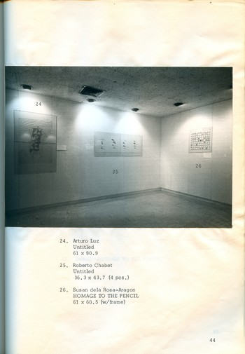 Pencil and Paper — Exhibition Catalogue (Excerpt)