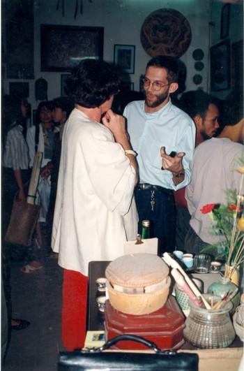 Solo Exhibition of Eric Leroux (Exhibition Opening)