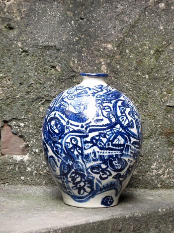 Ceramic Vase by Eric Leroux