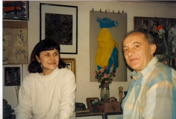 Natasha Kraevskaia and Jean-Paul Chatenet at Artists' Calendars