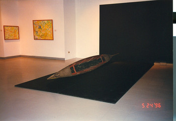 Boat (Exhibition View)