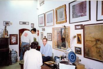 Solo Exhibition of Le Tuan Anh (Exhibition Preparation)
