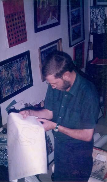 Receiving Works From Australian Artists