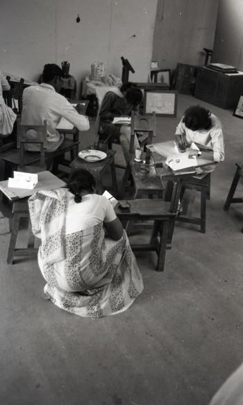 Preparation for the Fine Arts Fair, 1968