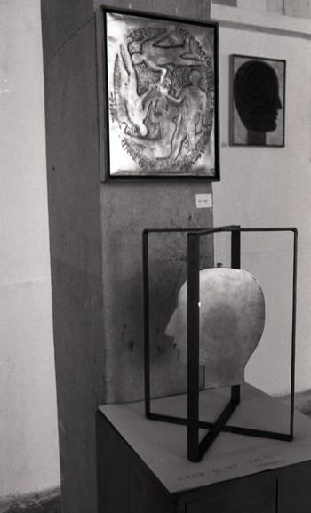 Artwork on Display at the Fine Arts Fair, 1968