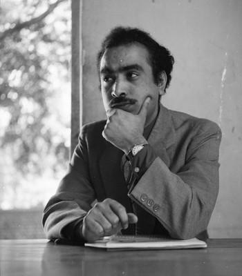 Portrait of G.R. Santosh