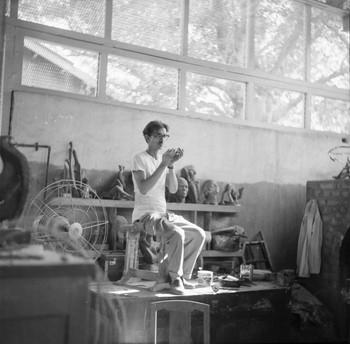 Portrait of Sankho Chaudhuri