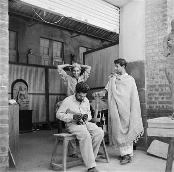 Photograph of Sarbari Roy Choudhury, Raghav Kaneria, and Krishna Chhatpar