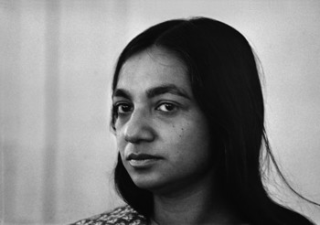 Portrait of Nasreen Mohamedi