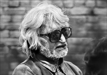 Portrait of M.F. Husain