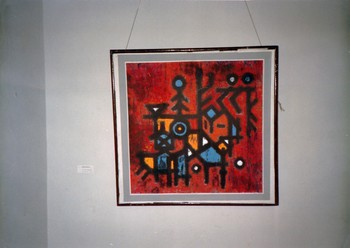 An Artwork in the Group Exhibition of Young Artists from Hunan