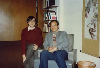 Lothar von Falkenhausen and Zheng Shengtian