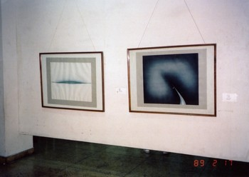 Works by Wei Ming at the China/Avant-Garde Exhibition