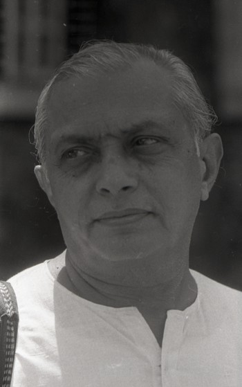 Portrait of Govind Bhatt