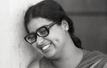 Portrait of Mrinalini Mukherjee