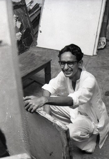 Portrait of Gulammohammed Sheikh