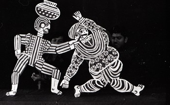 Puppets Designed by Jyoti Bhatt for the Fine Arts Fair, 1969
