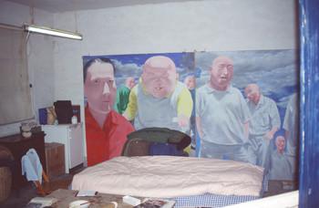 Two Paintings by Fang Lijun