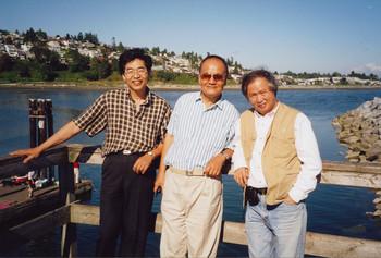 Liu Changhan, Zheng Shengtian, and Lin Hsinyueh, Vancouver, 2000