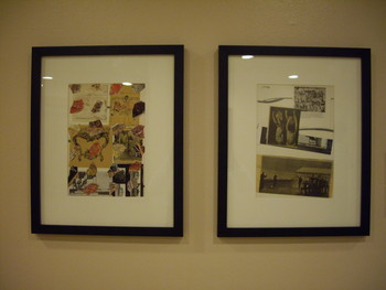 Collages Presented at Suddenly Turning Visible: The Collection at the Center