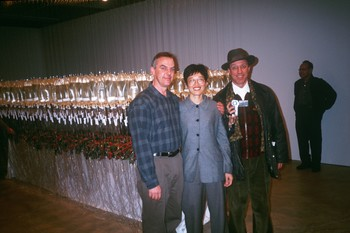 Keith Wallence, Chen Yanyin, and Hank Bull at Jiangnan: Modern and Contemporary Art from South of th