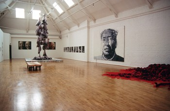 China Avantgarde Exhibition at Museum of Modern Art, Oxford
