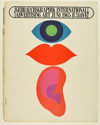 Gebrauchsgraphik (June, 1965) (Cover)