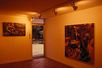 Works Presented at the Inaugural Exhibition of The Pinaglabanan Galleries