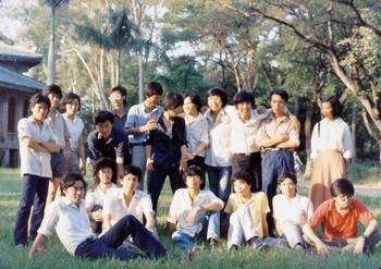 Members of Southern Artists Salon, Sun Yat-sen University, Guangzhou, 1986