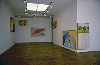 Paintings Presented at Five Artist in March