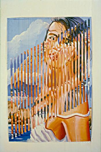 Untitled Painting ni Scanga-ra