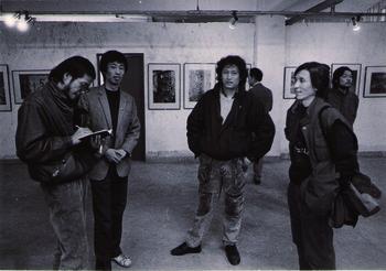 Ni Haifeng, Hu Jianping, and Sun Liang at 'Garage Show'