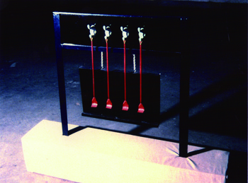 'Ru Yi' Piano Cure Device for Itching  (Exhibition View)