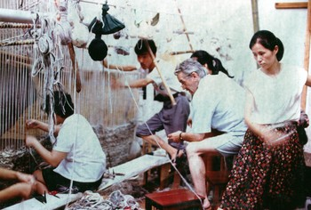 The Tapestry Weaving Workshop at the Zhejiang Academy of Fine Arts