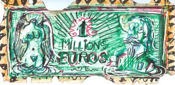 1 Million Euros Bill