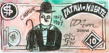 A Dollar Bill from the Dollars US–Charlie Chaplin Series