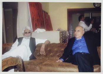 M.F. Husain and Wahab Jaffer