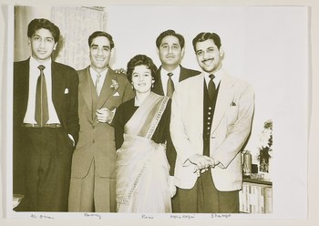 Group Photograph with Ali Imam, Ahmed Parvez, Anwar Jalal Shemza and Others