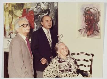Wahab Jaffer with Dr Saleemuzzman Siddiqui and His Wife
