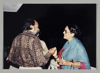 Zahoorul Akhlaque and Geeta Kapur