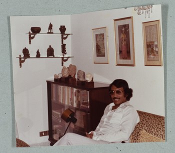 Guest at Wahab Jaffer's House