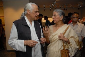 Photographs of Inauguration of the Exhibition 'Drawing Trails' — Set of 30 Photos