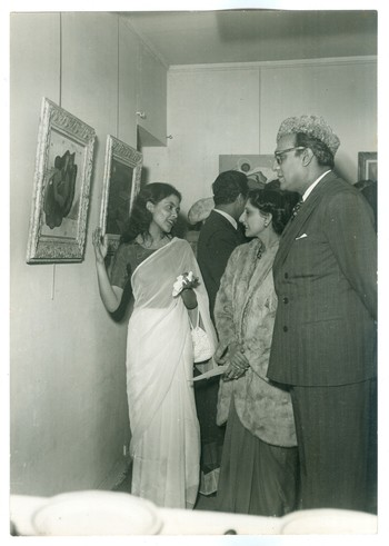 1952 Exhibition Opening of Galerie Henri Tronche, Paris (Set of 3 Photographs)