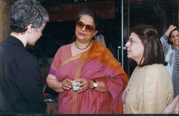 Photograph of Geeta Kapur