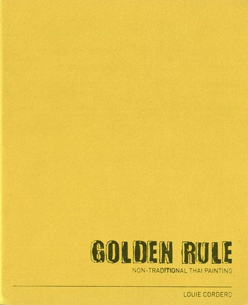 Golden Rule Non-traditional Thai Painting Louie Cordero_Cover